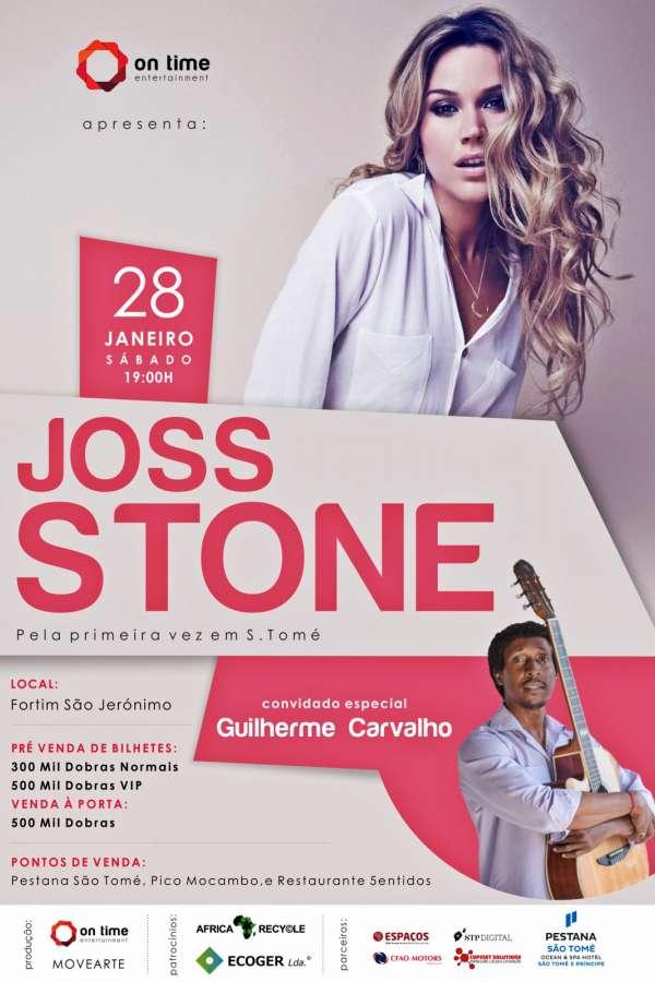 Joss Stone em São Tomé